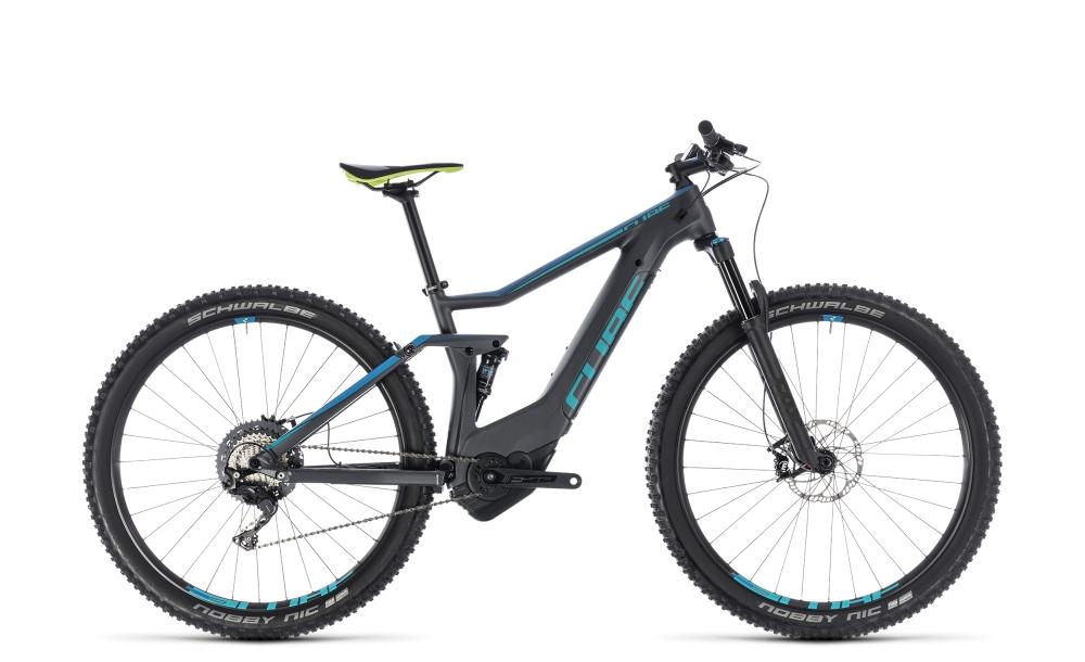 Cube Stereo Hybrid 120 HPC Race 500 iridium´n´blue 2018 Größe: 16´´ - Bergmann Bike & Outdoor