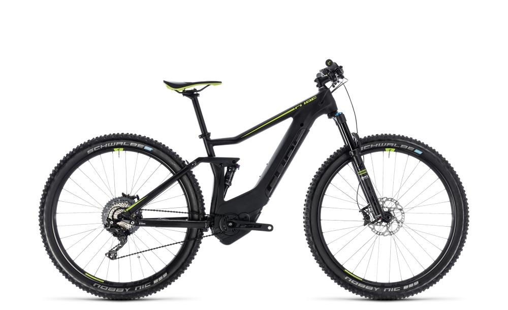 Cube Stereo Hybrid 120 HPC SL 500 black´n´green 2018 Größe: 16´´ - Bergmann Bike & Outdoor