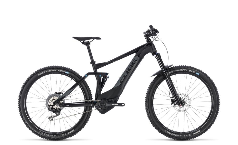 Cube Stereo Hybrid 140 Pro 500 27.5 black´n´grey 2018 Größe: 16´´ - Bikesport Scheid - Ihr Fahrradfachgeschäft im Saarland