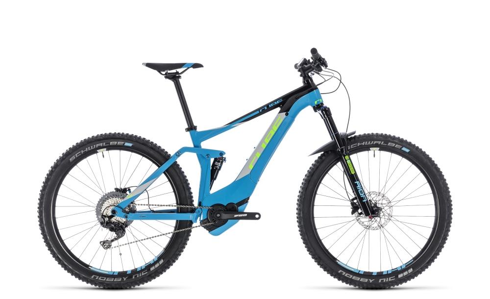 Cube Stereo Hybrid 140 Pro 500 27.5 blue´n´green 2018 Größe: 16´´ - Bikesport Scheid - Ihr Fahrradfachgeschäft im Saarland