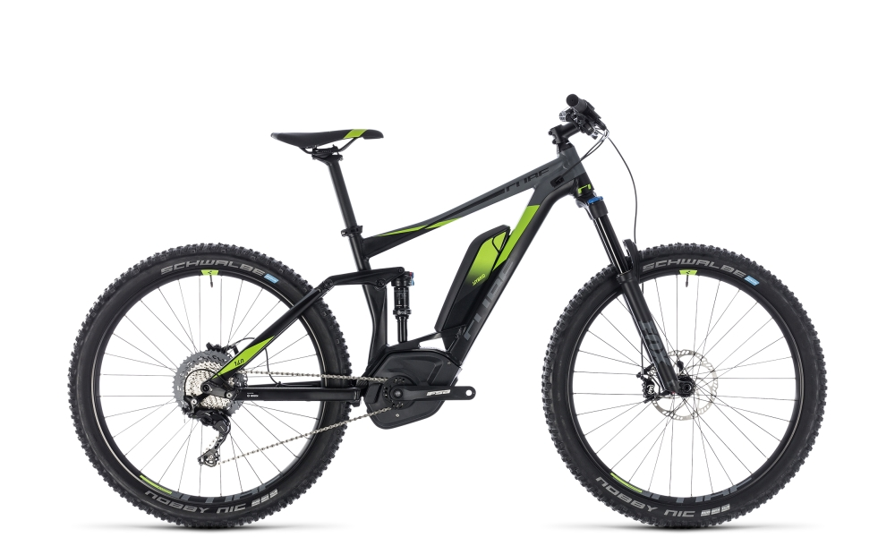Cube Stereo Hybrid 140 Race 500 27.5 black´n´green 2018 Größe: 18´´ - Bergmann Bike & Outdoor