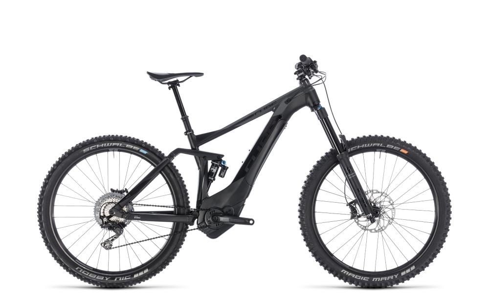 Cube Stereo Hybrid 160 SL 500 27.5 black´n´grey 2018 Größe: 16´´ - Bikesport Scheid - Ihr Fahrradfachgeschäft im Saarland