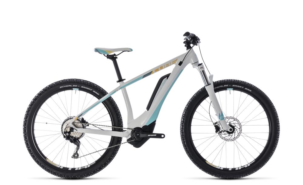 Cube Access Hybrid Pro 400 white´n´blue 2018 Größe: 14´´ - Bikesport Scheid - Ihr Fahrradfachgeschäft im Saarland