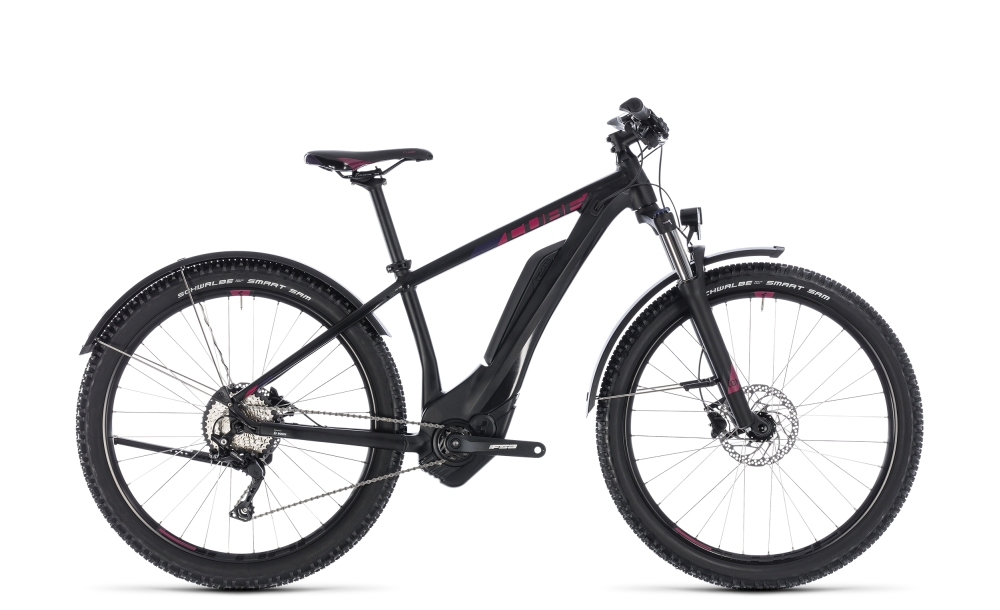 Cube Access Hybrid Pro Allroad 400 black´n´berry 2018 Größe: 17´´ - Bergmann Bike & Outdoor
