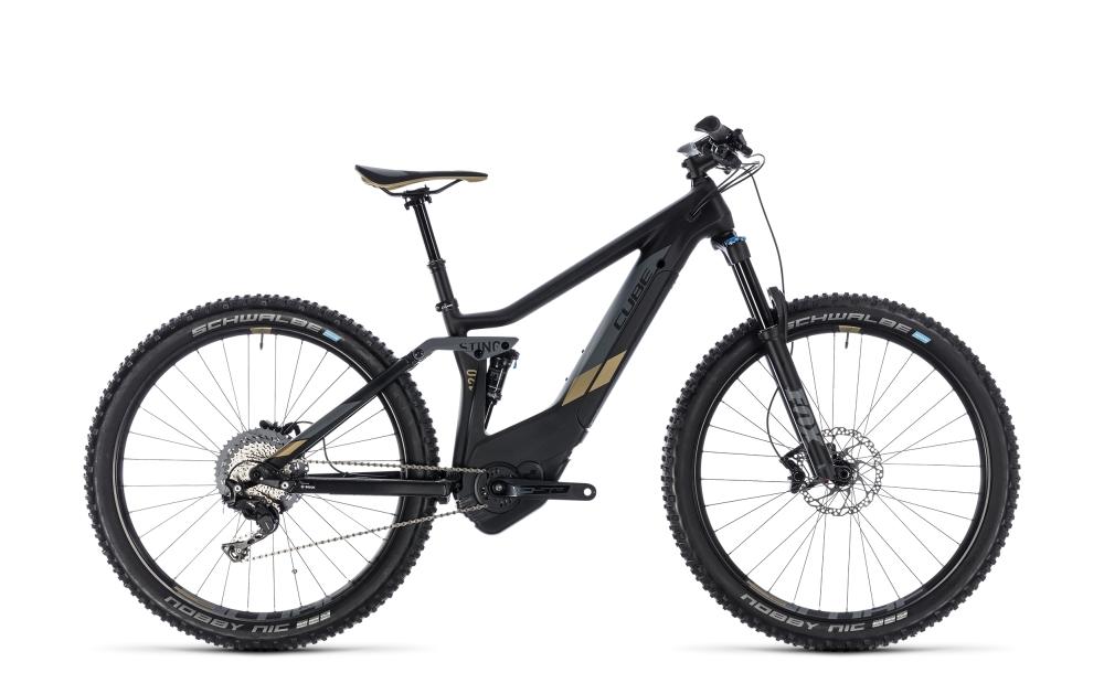 Cube Sting Hybrid 120 HPC SL 500 carbon´n´gold 2018 Größe: 16´´ - Bikesport Scheid - Ihr Fahrradfachgeschäft im Saarland