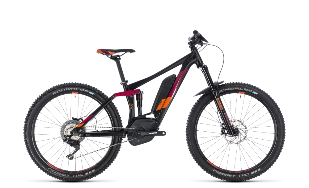 Cube Sting Hybrid 140 Race 500 27.5 black´n´berry 2018 Größe: 16´´ - Bergmann Bike & Outdoor