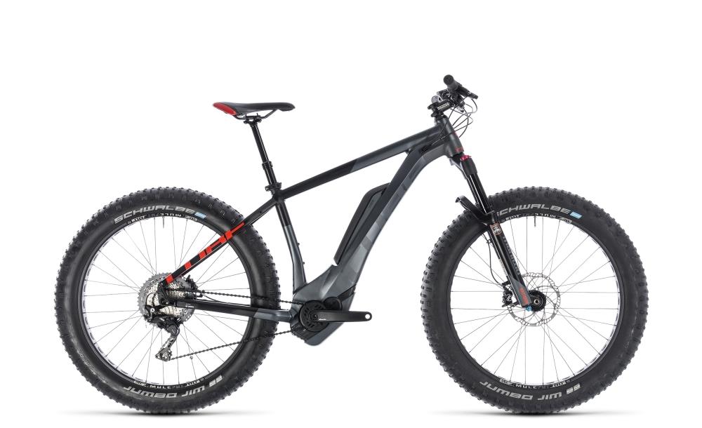 Cube Nutrail Hybrid 500 iridium´n´red 2018 Größe: 17´´ - Bergmann Bike & Outdoor