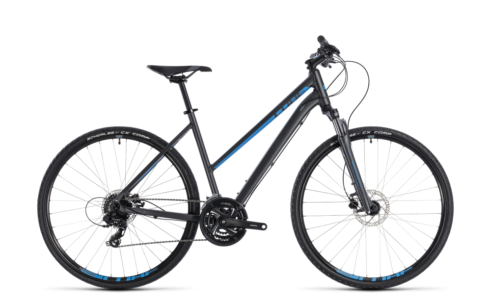 Cube Nature iridium´n´blue 2018 Größe: Trapeze 46 cm - Bergmann Bike & Outdoor