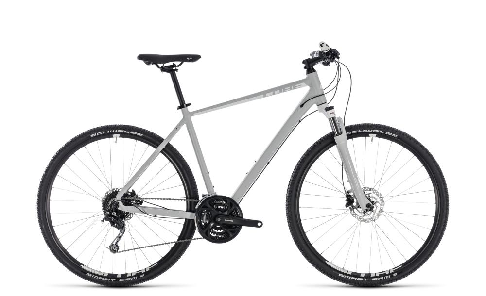 Cube Nature Pro bright grey´n´white 2018 Größe: 46 cm - Bergmann Bike & Outdoor