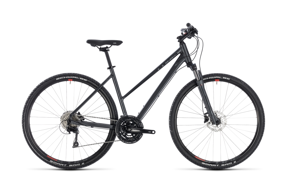 Cube Nature EXC iridium´n´red 2018 Größe: Trapeze 46 cm - Bergmann Bike & Outdoor