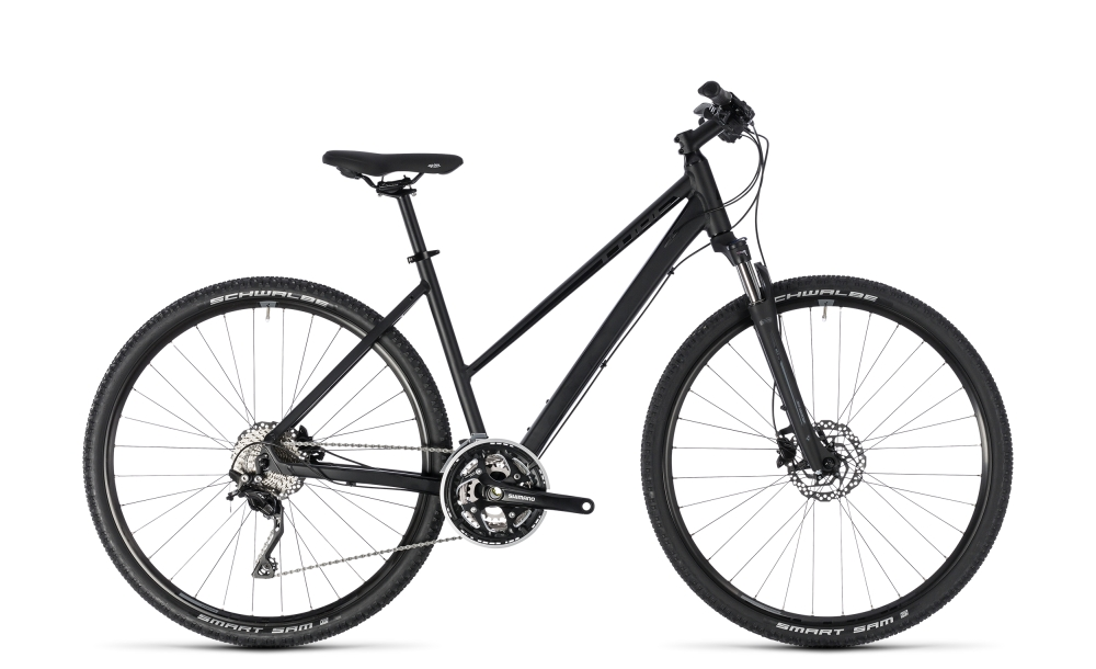 Cube Nature SL black´n´grey 2018 Größe: Trapeze 46 cm - Bergmann Bike & Outdoor