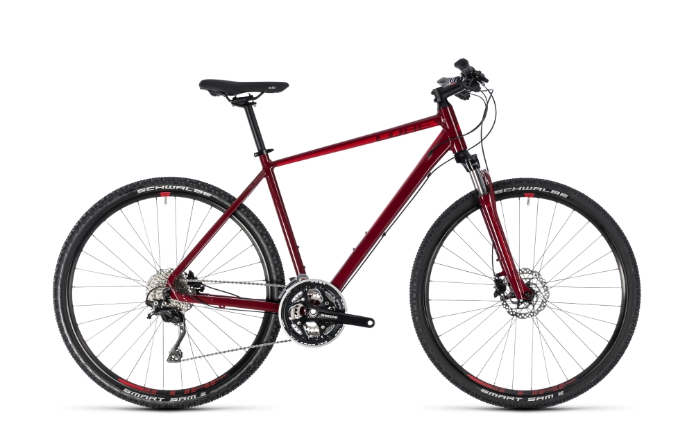 Cube Nature SL darkred´n´red 2018 Größe: 62 cm - Bergmann Bike & Outdoor