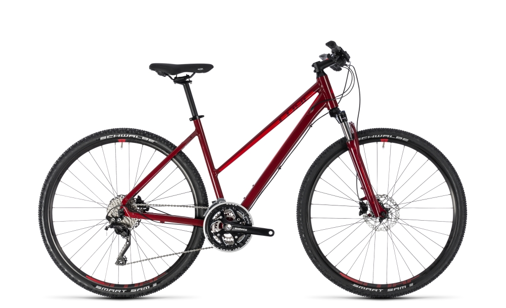Cube Nature SL darkred´n´red 2018 Größe: Trapeze 54 cm - Bergmann Bike & Outdoor