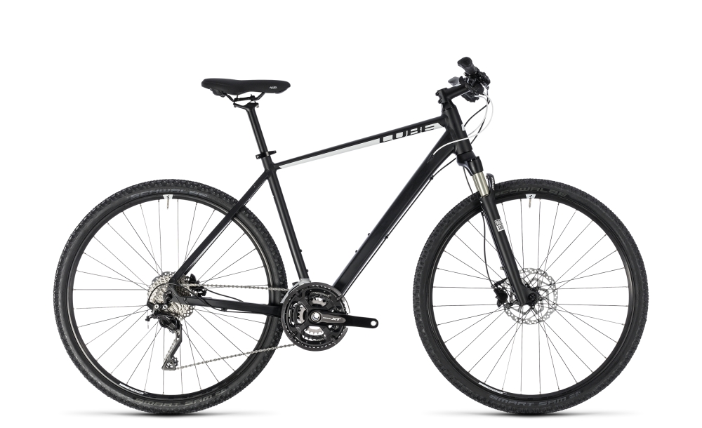 Cube Cross Pro black´n´white 2018 Größe: 46 cm - Bergmann Bike & Outdoor