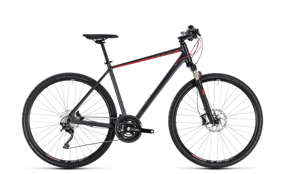 Cube Cross EXC iridium´n´red 2018 Größe: 46 cm - Bergmann Bike & Outdoor
