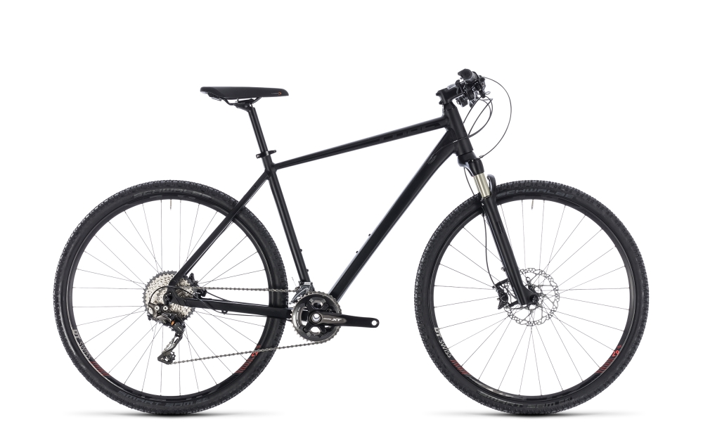 Cube Cross SL black edition 2018 Größe: 54 cm - Cube Cross SL black edition 2018 Größe: 54 cm
