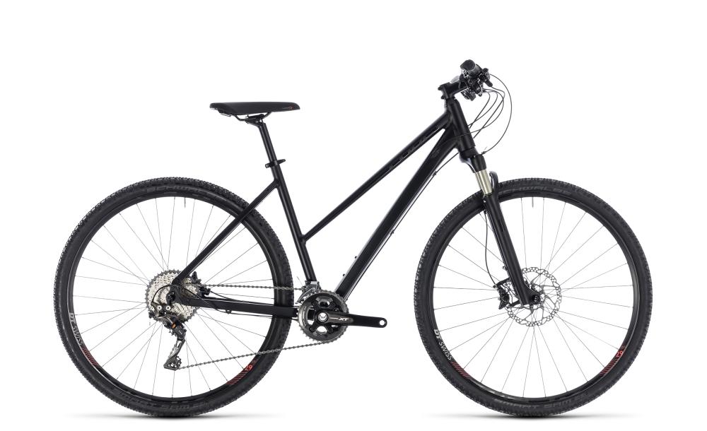 Cube Cross SL black edition 2018 Größe: Trapeze 46 cm - Bergmann Bike & Outdoor