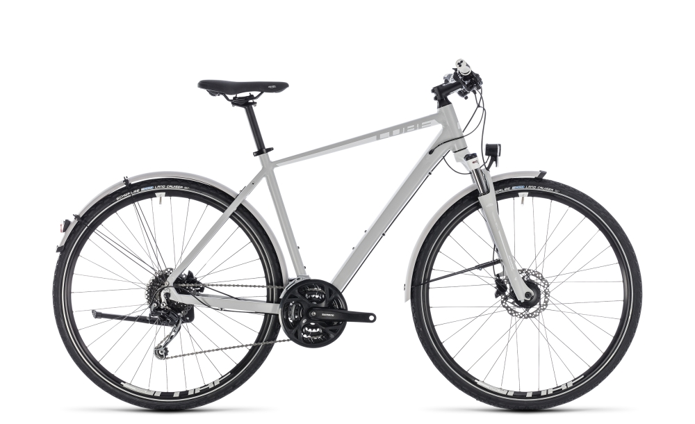 Cube Nature Pro Allroad bright grey´n´white 2018 Größe: 54 cm - Bergmann Bike & Outdoor