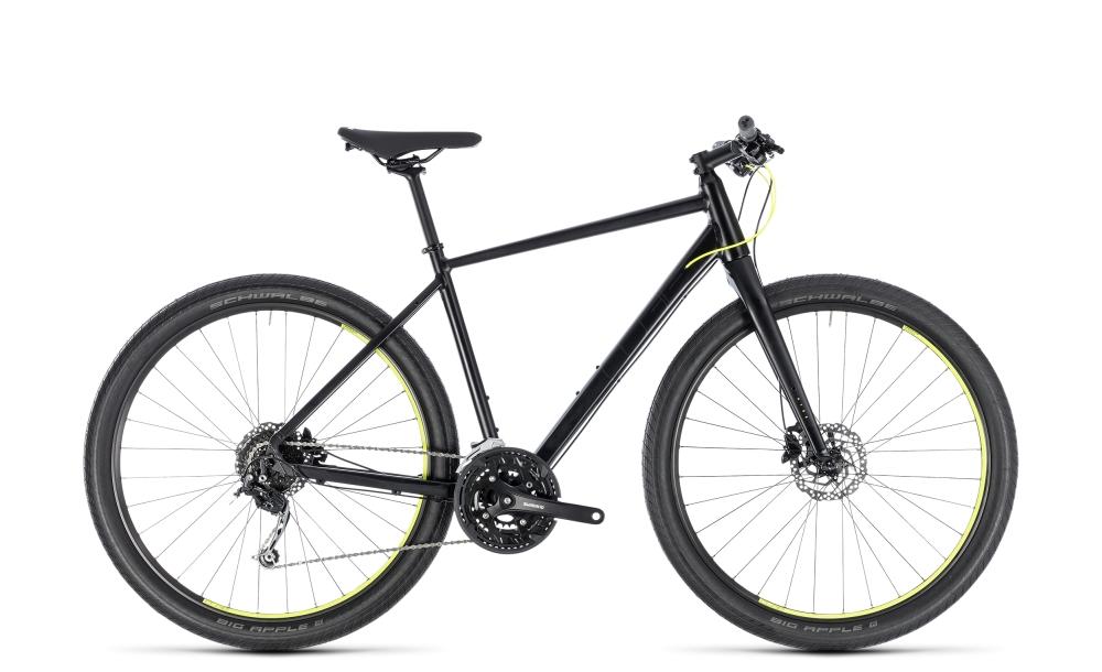 Cube Hyde black´n´yellow 2018 Größe: 46 cm - Bikesport Scheid - Ihr Fahrradfachgeschäft im Saarland