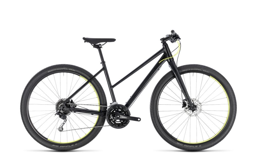 Cube Hyde black´n´yellow 2018 Größe: Trapeze 46 cm - Bikesport Scheid - Ihr Fahrradfachgeschäft im Saarland