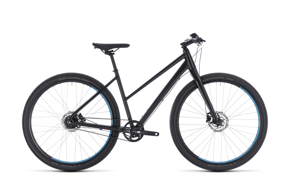 Cube Hyde Pro black´n´blue 2018 Größe: Trapeze 46 cm - Bergmann Bike & Outdoor