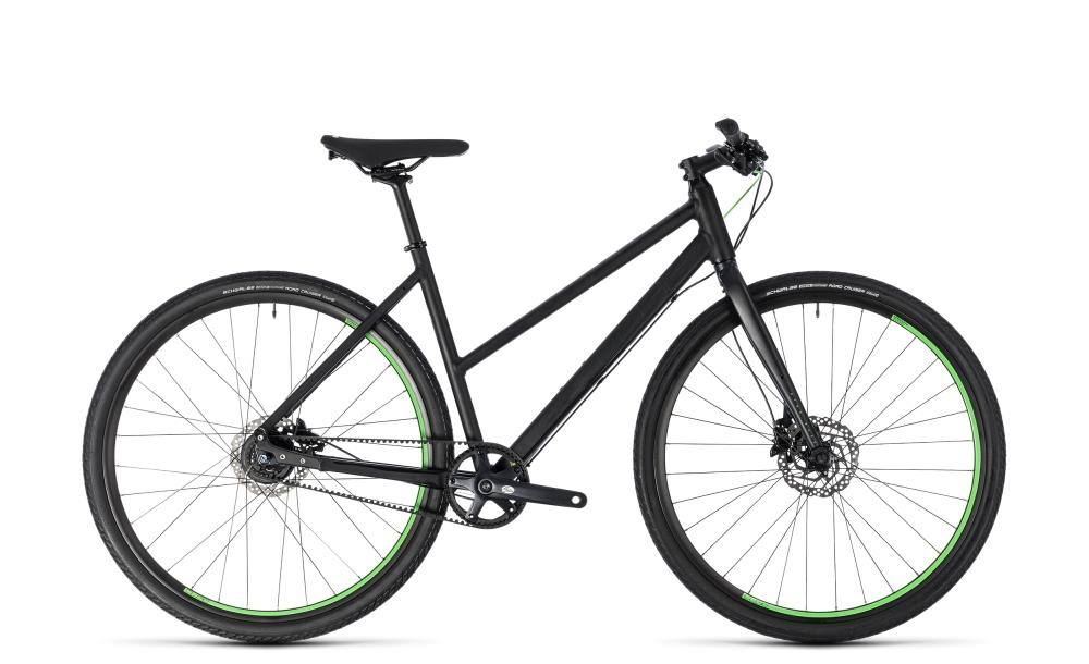 Cube Hyde Race black´n´green 2018 Größe: Trapeze 46 cm - Bikesport Scheid - Ihr Fahrradfachgeschäft im Saarland