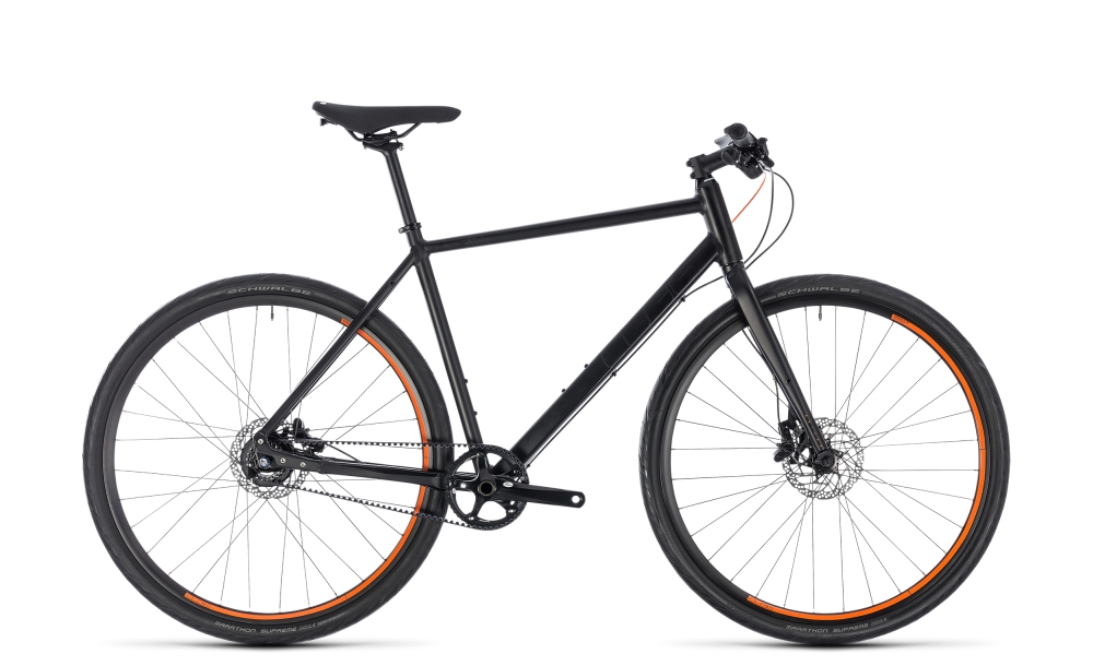 Cube Editor black´n´orange 2018 Größe: 46 cm - Bergmann Bike & Outdoor
