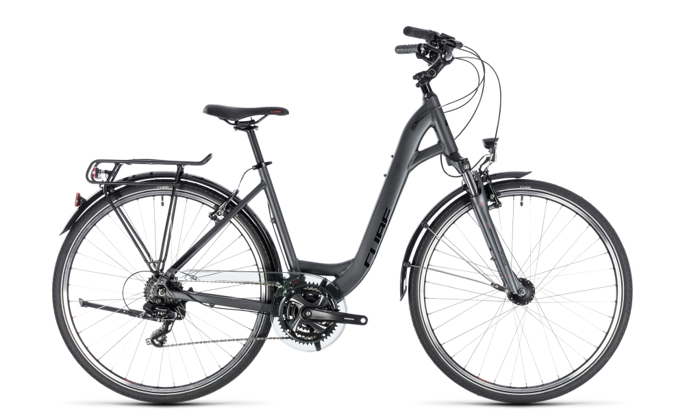 Cube Touring iridium´n´red 2018 Größe: Easy Entry 45 cm - Bikesport Scheid - Ihr Fahrradfachgeschäft im Saarland