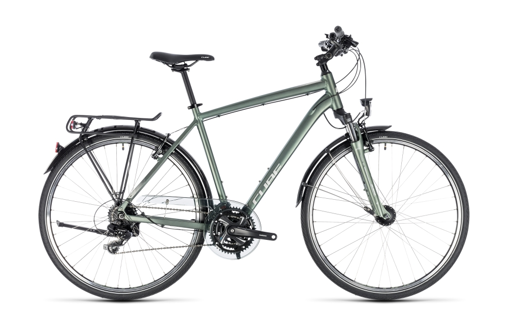 Cube Touring green´n´silver 2018 Größe: 54 cm - Bergmann Bike & Outdoor