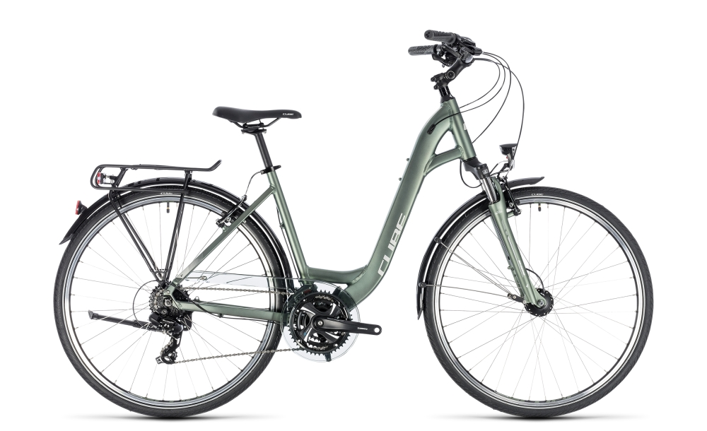 Cube Touring green´n´silver 2018 Größe: Easy Entry 45 cm - Bergmann Bike & Outdoor