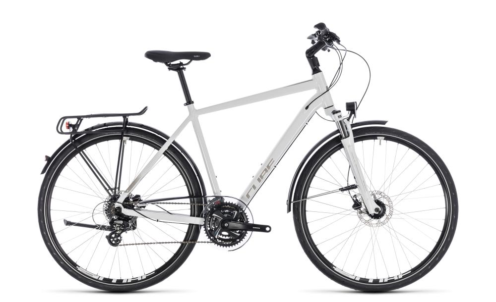 Cube Touring Pro white´n´silver 2018 Größe: 46 cm - Bikesport Scheid - Ihr Fahrradfachgeschäft im Saarland