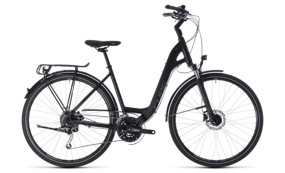 Cube Touring EXC black´n´grey 2018 Größe: Easy Entry 45 cm - Bikesport Scheid - Ihr Fahrradfachgeschäft im Saarland