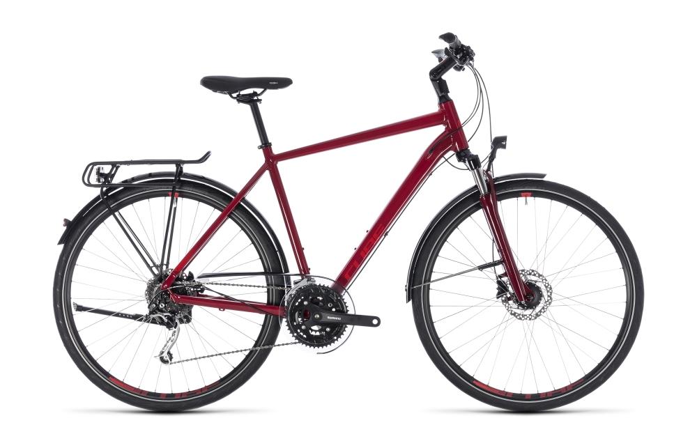Cube Touring EXC darkred´n´red 2018 Größe: 46 cm - Bergmann Bike & Outdoor