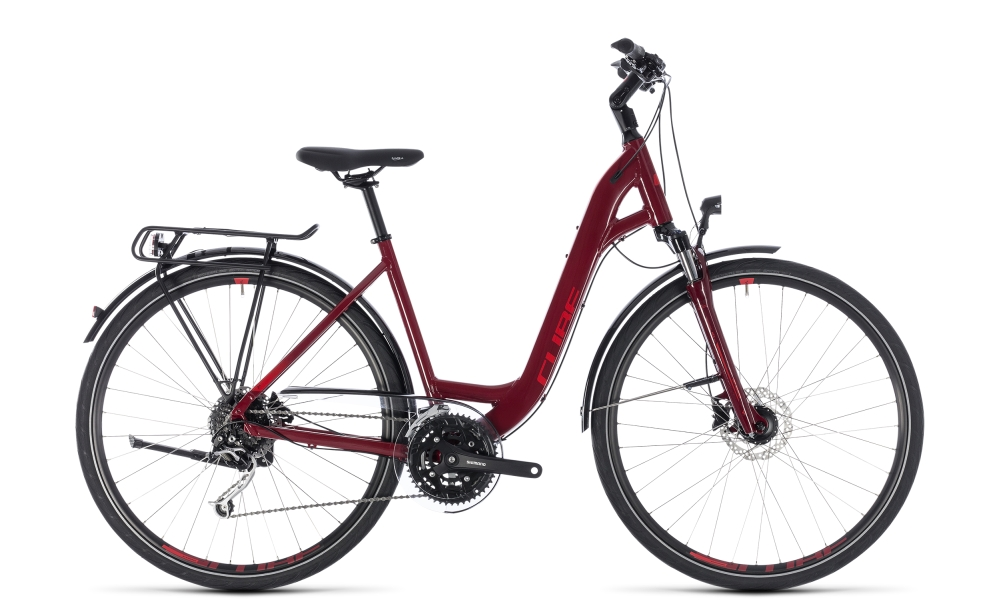 Cube Touring EXC darkred´n´red 2018 Größe: Easy Entry 45 cm - Bergmann Bike & Outdoor