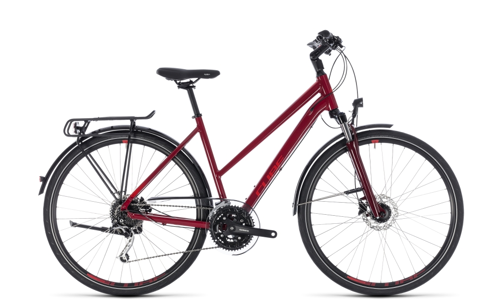 Cube Touring EXC darkred´n´red 2018 Größe: Trapeze 54 cm - Bergmann Bike & Outdoor