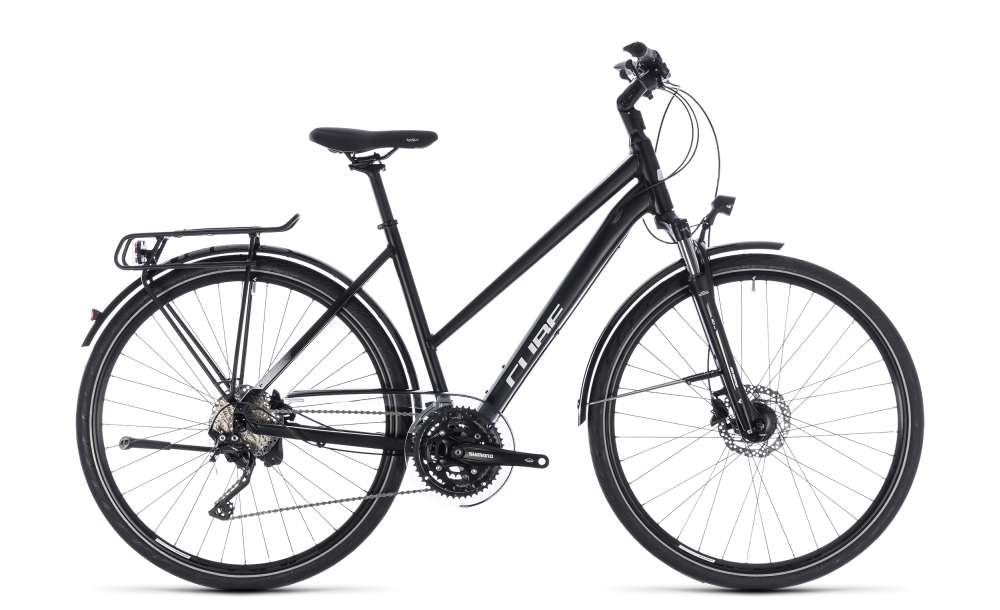 Cube Touring SL black´n´white 2018 Größe: Trapeze 46 cm - Bergmann Bike & Outdoor