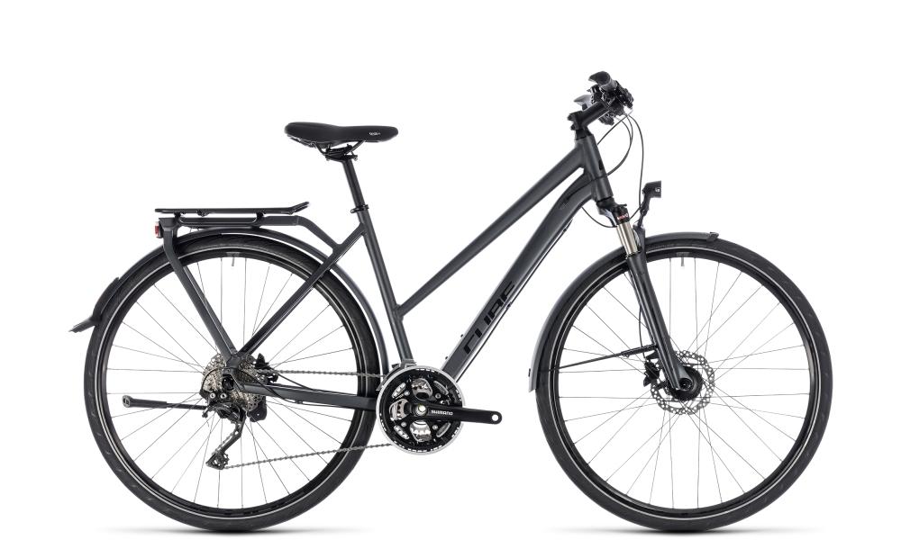 Cube Kathmandu Pro iridium´n´black 2018 Größe: Trapeze 46 cm - Bikesport Scheid - Ihr Fahrradfachgeschäft im Saarland