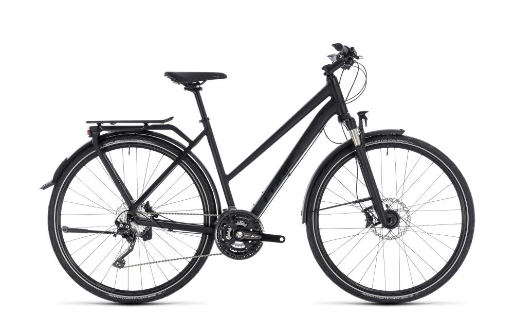 Cube Kathmandu SL black edition 2018 Größe: Trapeze 46 cm - Bikesport Scheid - Ihr Fahrradfachgeschäft im Saarland