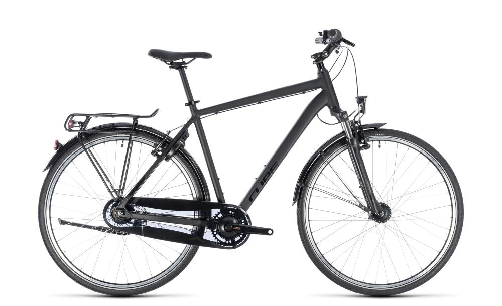 Cube Town Pro Comfort black´n´black 2018 Größe: 46 cm - Bikesport Scheid - Ihr Fahrradfachgeschäft im Saarland
