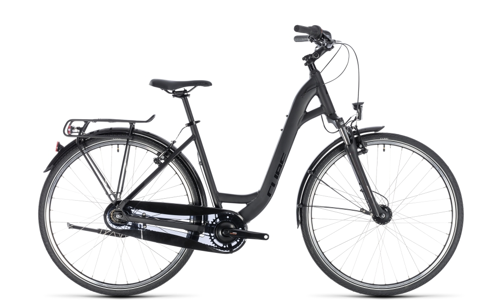 Cube Town Pro Comfort black´n´black 2018 Größe: Easy Entry 53 cm - Bergmann Bike & Outdoor