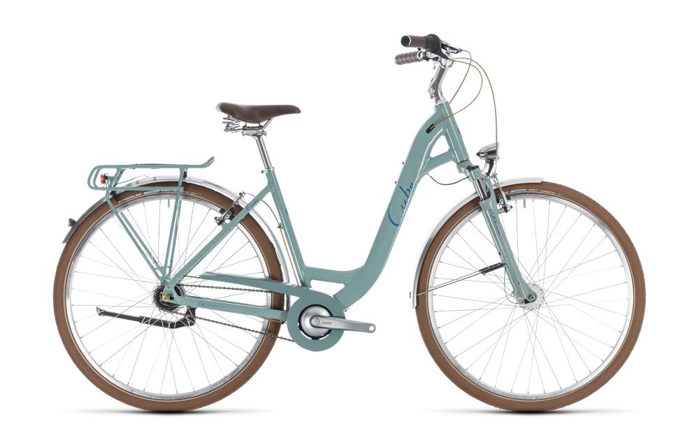Cube Elly Cruise pistachio´n´blue 2018 Größe: Easy Entry 45 cm - Bikesport Scheid - Ihr Fahrradfachgeschäft im Saarland
