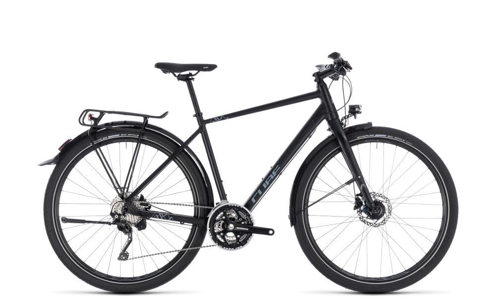 Cube Travel EXC black´n´grey 2018 Größe: 46 cm - Bikesport Scheid - Ihr Fahrradfachgeschäft im Saarland