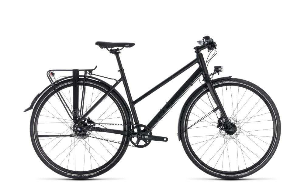 Cube Travel SL black´n´black 2018 Größe: Trapeze 54 cm - Bikesport Scheid - Ihr Fahrradfachgeschäft im Saarland
