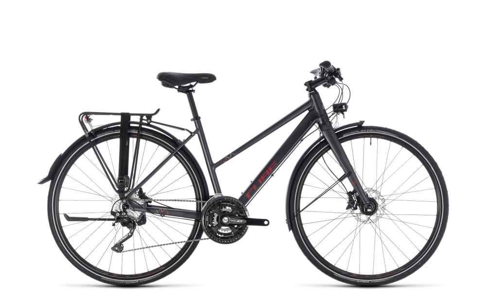 Cube Travel Sport iridium´n´red 2018 Größe: Trapeze 47 cm - Bikesport Scheid - Ihr Fahrradfachgeschäft im Saarland
