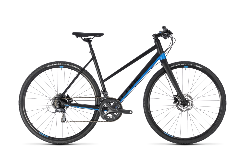 Cube SL Road black´n´blue 2018 Größe: Trapeze 53 cm - Bergmann Bike & Outdoor
