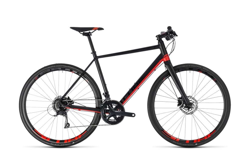 Cube SL Road Pro black´n´red 2018 Größe: 50 cm - Bergmann Bike & Outdoor