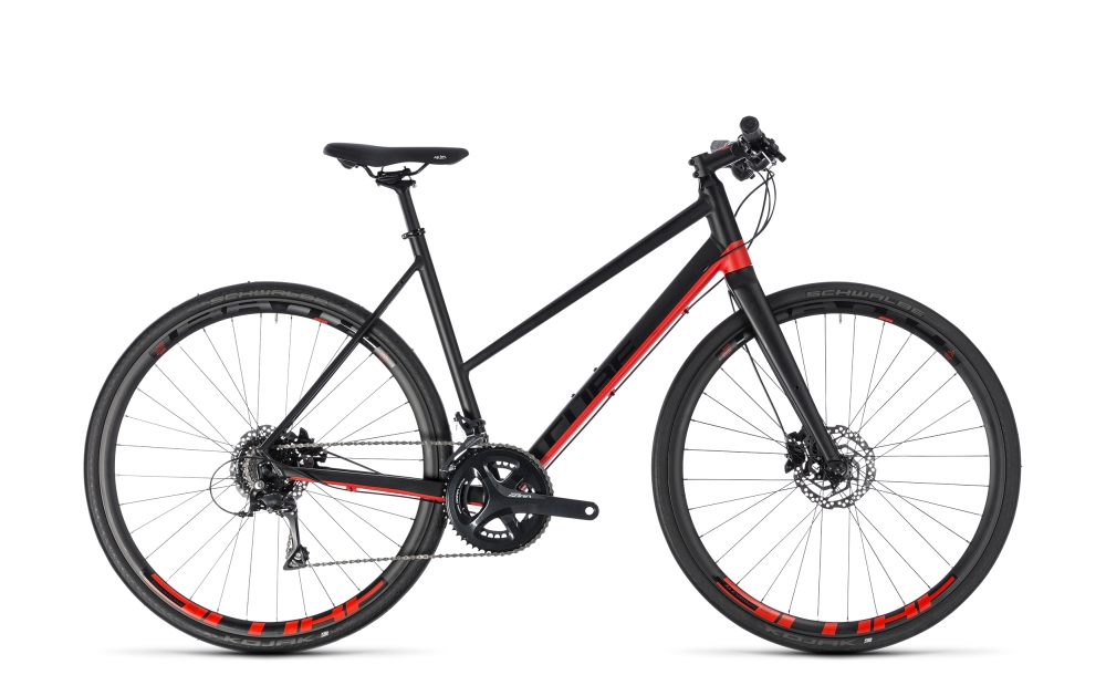 Cube SL Road Pro black´n´red 2018 Größe: Trapeze 50 cm - Bergmann Bike & Outdoor