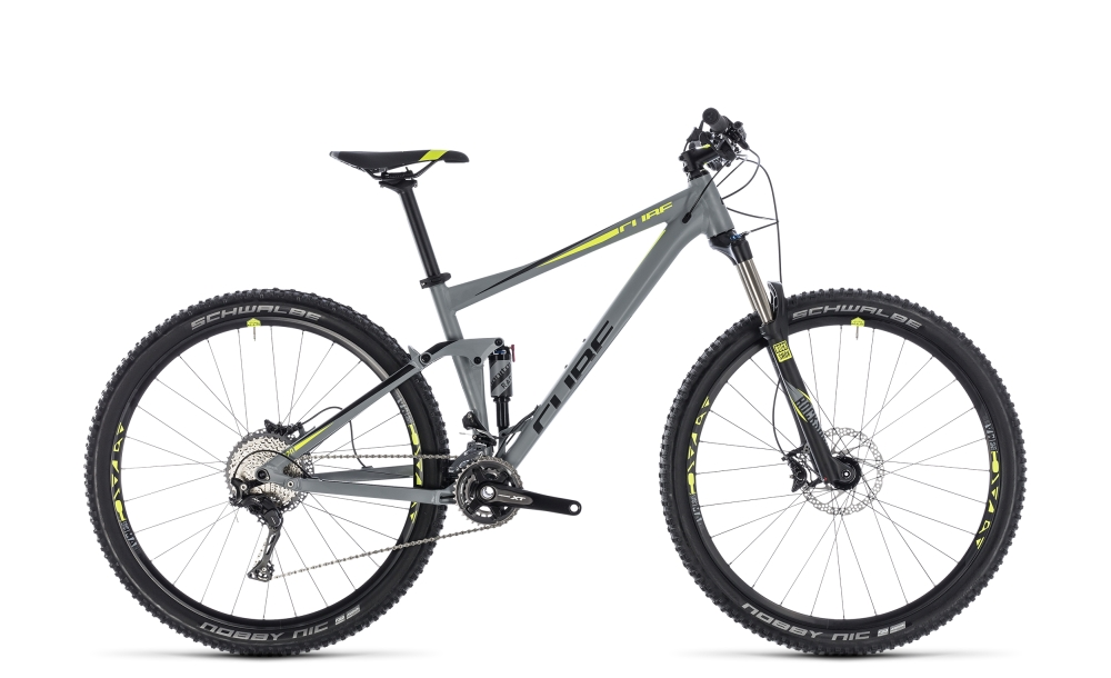 Cube Stereo 120 Pro grey´n´flashyellow 2018 Größe: 16´´ - Bergmann Bike & Outdoor