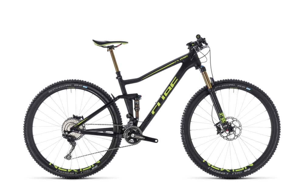 Cube Stereo 120 HPC SLT carbon´n´flashgreen 2018 Größe: 16´´ - Bergmann Bike & Outdoor
