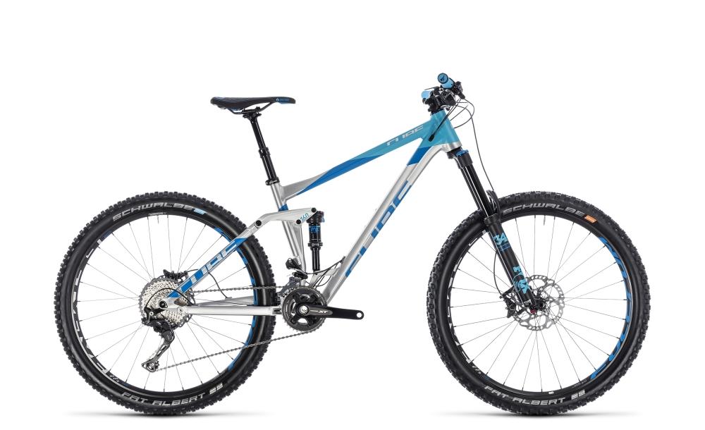 Cube Stereo 160 SL 27.5 metal´n´blue 2018 Größe: 20´´ - Bikesport Scheid - Ihr Fahrradfachgeschäft im Saarland